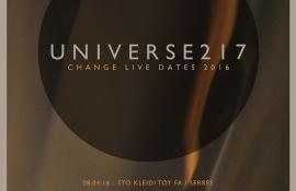 Διαγωνισμός: Κερδίστε προσκλήσεις και CD για το live των Universe217 της αρεσκείας σας!