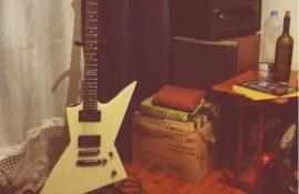 ΠΩΛΕΙΤΑΙ!!! Hλεκτρική κιθάρα ESP LTD EX-400 σε χρώμα Olymbic White, James Hetfield style Explorer με μαγνήτες EMG 81/60.