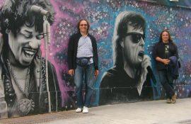 ΝΙΚΟΣ ΝΤΟΥΝΟΥΣΗΣ στο Rock Overdose:' Τιμή μας να παίξουμε δίπλα σε μια τόσο ιστορική μπάντα σαν τους Bands of Friends (Rory Gallagher band)'