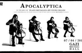 Διαγωνισμός: Κερδίστε προσκλήσεις για τη συναυλία των APOCALYPTICA στην Αθήνα!