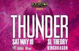 Διαγωνισμός: Κερδίστε προσκλήσεις για τη συναυλία των THUNDER στην Αθήνα!