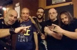 """Τάκης Κωνσταντινίδης (CRUSH) στο Rock Overdose:' Το νέο μας album""""Edition Of Darkness"""" θα κυκλοφορήσει στα τέλη του 2018."""