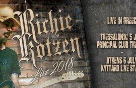 Διαγωνισμός: Κερδίστε προσκλήσεις για τη συναυλία του Richie Kotzen στην Αθήνα!