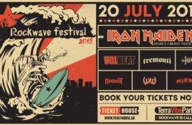 Aφιέρωμα στη 3η μέρα του Rockwave Festival (20/07/2018)