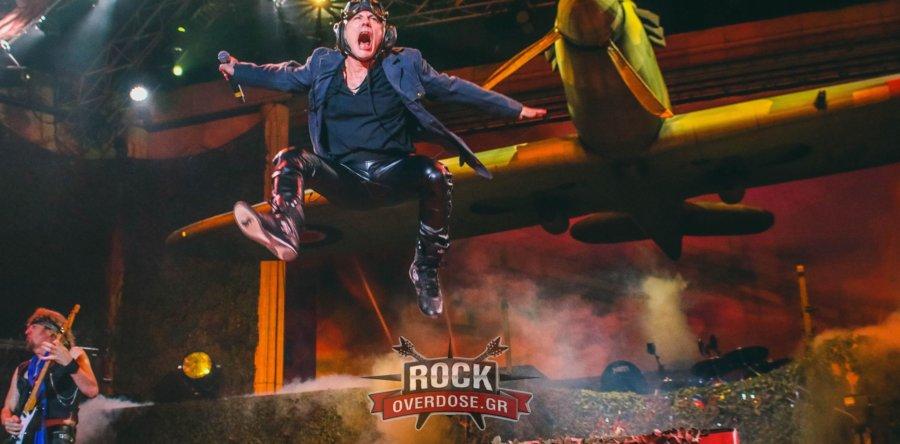 Ο κακός χαμός στους IRON MAIDEN, στη καλύτερη συναυλία τους στην Ελλάδα! (Βίντεο)
