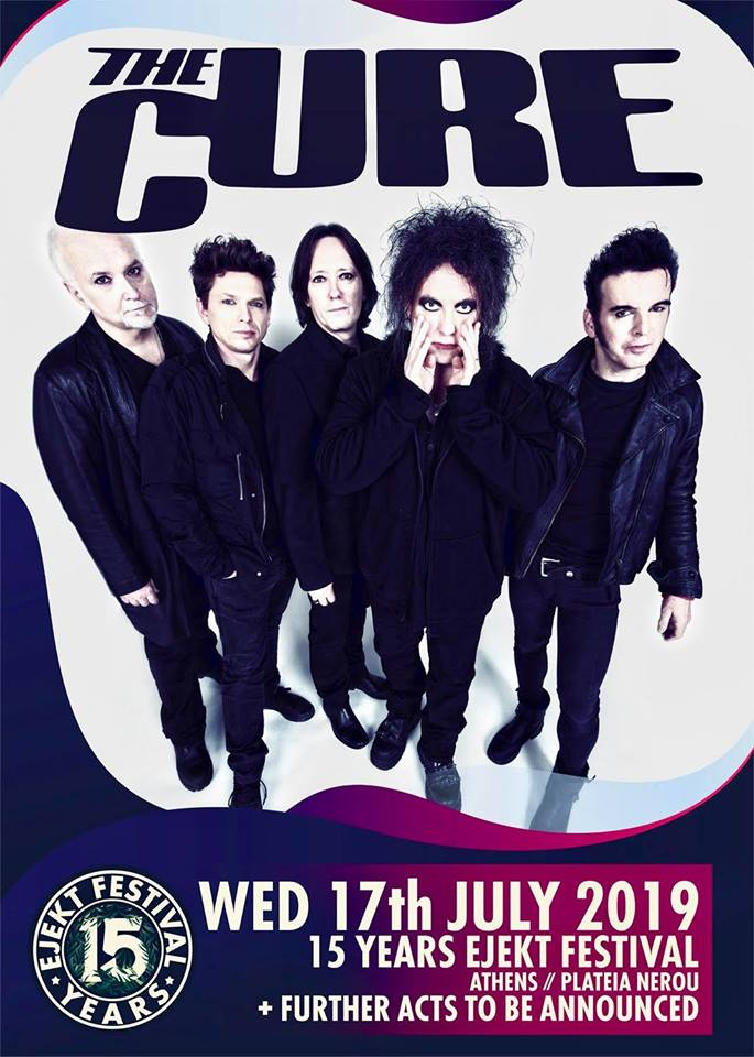 sweepstakes for the cure 2019 the cure έρχονται στην αθηνα στο ejekt festival rock 2922