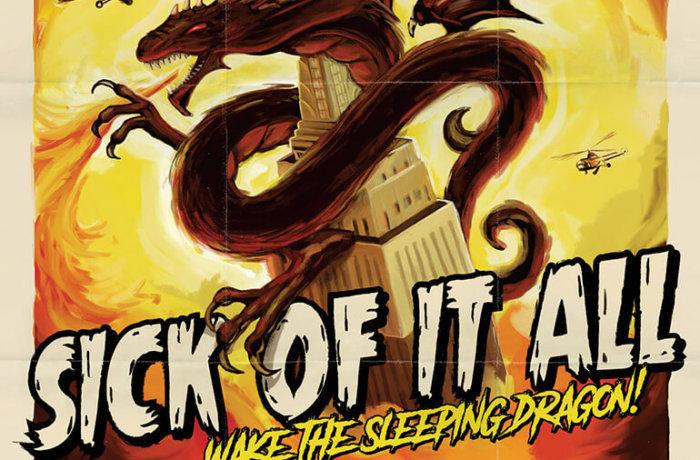 "SICK OF IT ALL – ""Wake the Sleeping Dragon!"""