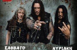 Aφιέρωμα: Destruction (+ support συγκροτήματα The Silent Rage, Murder Angels, Amken,Acid Death): Θανατηφόρες ελληνογερμανικές thrash ('til) death μηχανές!
