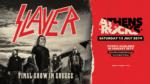 ΕΠΙΣΗΜΟ: Οι SLAYER στην Ελλάδα στις 13 Ιουλίου στο AthensRocksFestival!