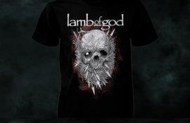 Διαγωνισμός: Κερδίστε ένα T-shirt LAMB OF GOD!