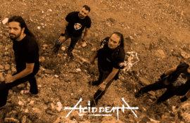 """Σάββας Μπετίνης (ACID DEATH) στο Rock Overdose:""""Η παγκόσμια metal σκηνή δεν μας βλέπει πια σαν τον φτωχό συγγενή""""."""