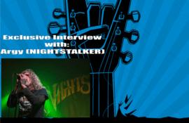 NIGHTSTALKER: Ακούστε τη συνέντευξη του ARGY στο Rock Overdose Web Radio!